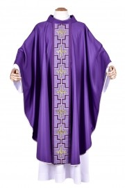Venice Alpha and Omega Chasuble CS038