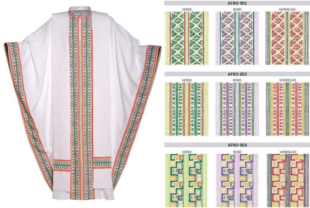 Afro Senegal Tunic/Chasuble TC006