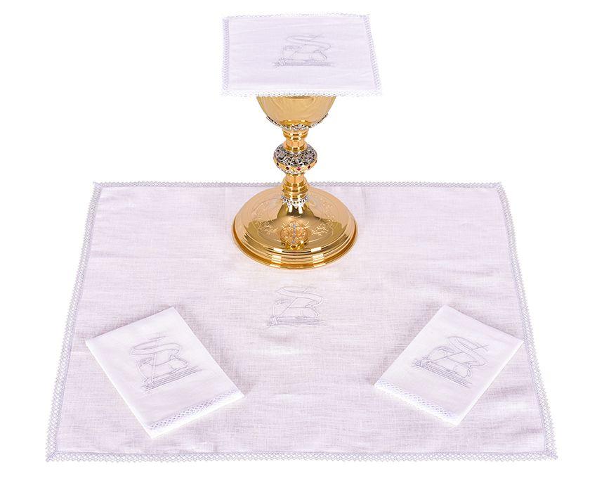 Altar Set Linen Lamb B008