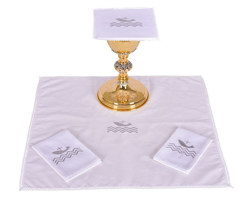 Altar Set Cotton Pope Francis B185