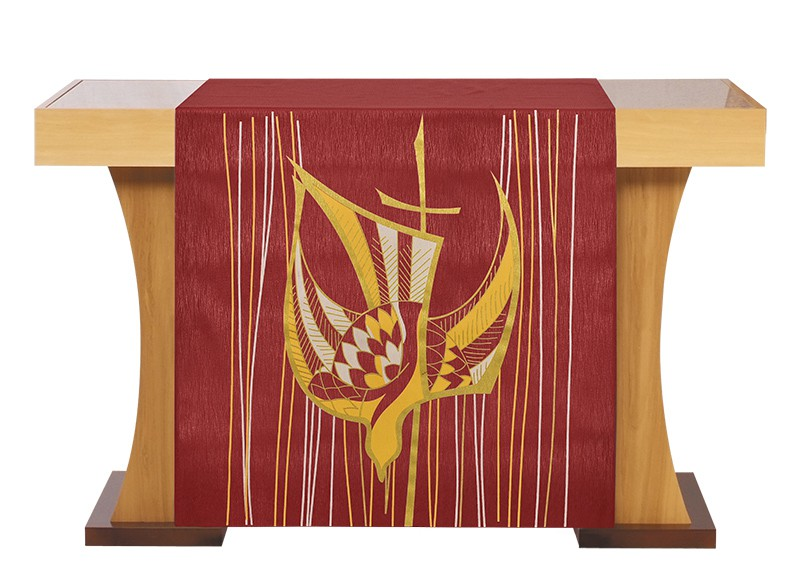 Altar Front Pentecost Red S203