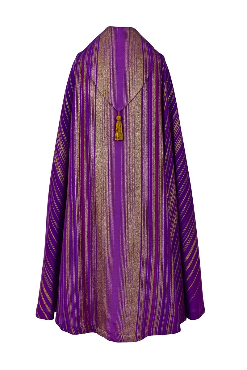 Balthazar Asperges Cope Purple CP512