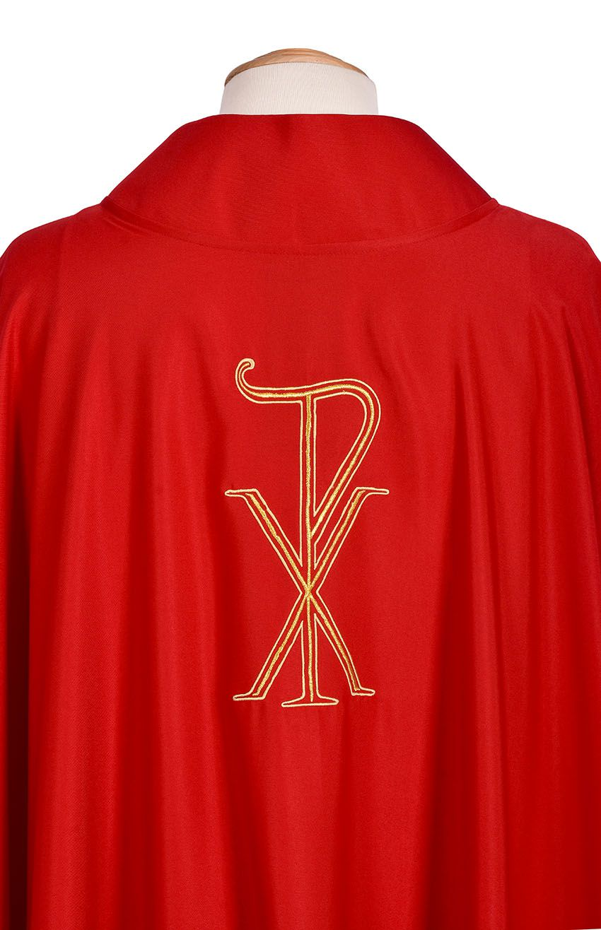 New Alliance Chasuble Red CS420