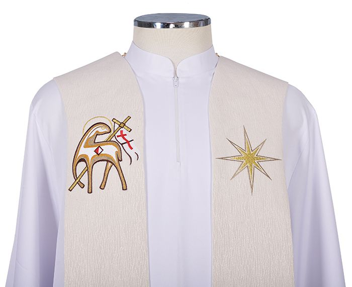 Paschal Lamb Priestly Stole ES250