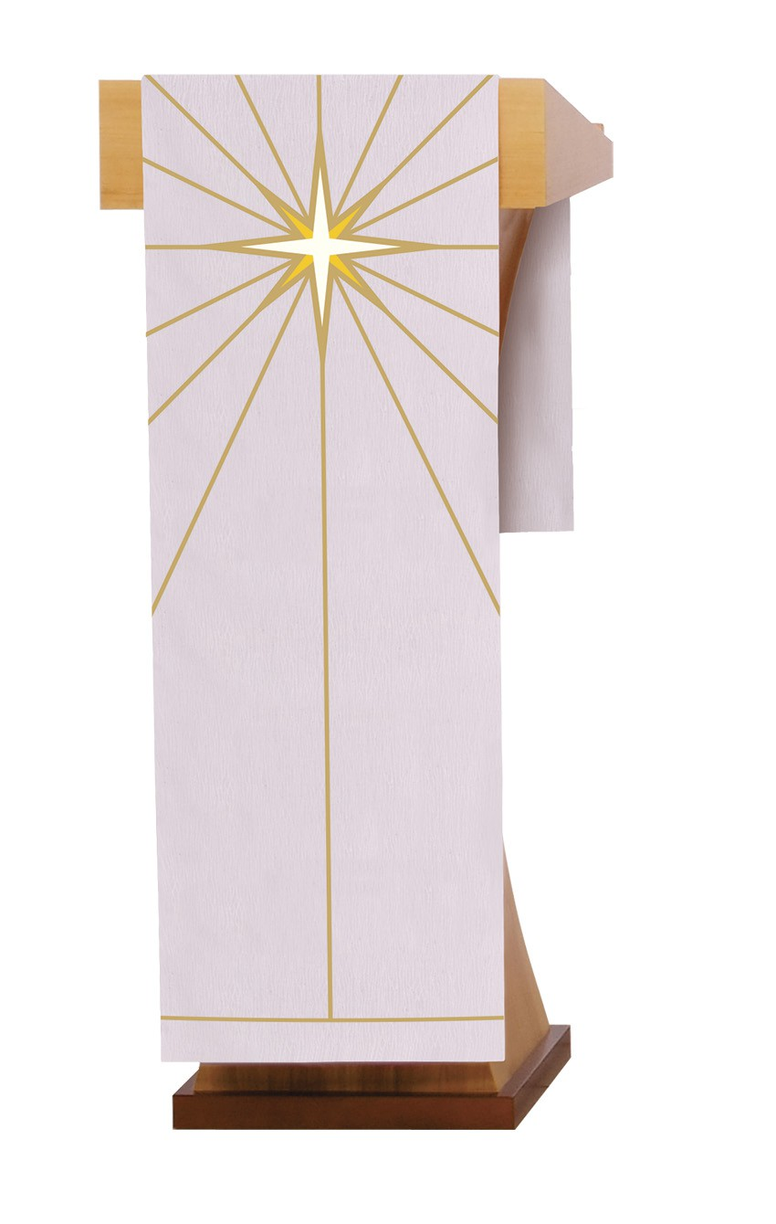Pulpit Cover for Christmas Celebrations S229