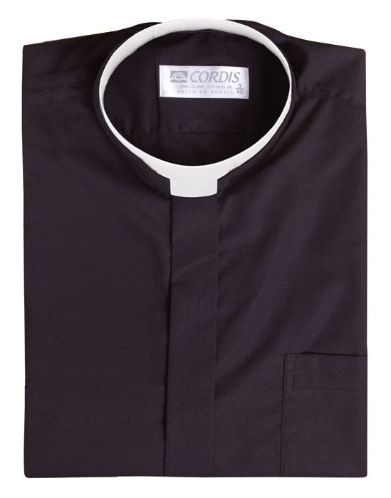 Roman Clerical Shirt Short Sleeve