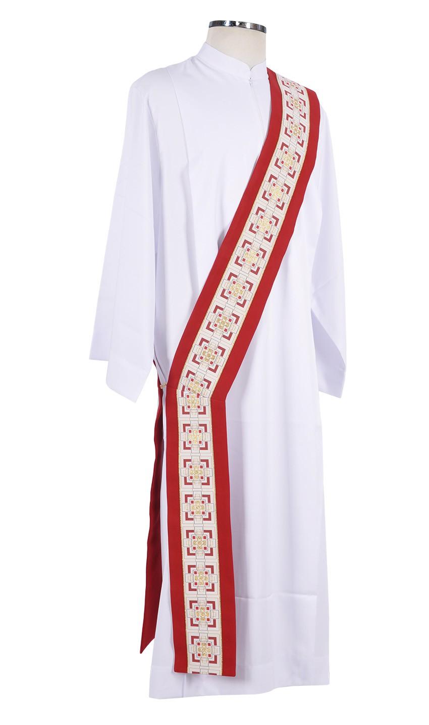 Saint Frei Galvão Emmaus Diaconal Stole ED448