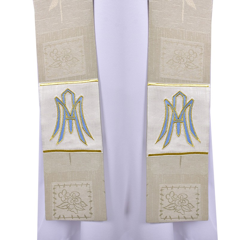 Holy Mary Priestly Stole Asperges Cope ES704