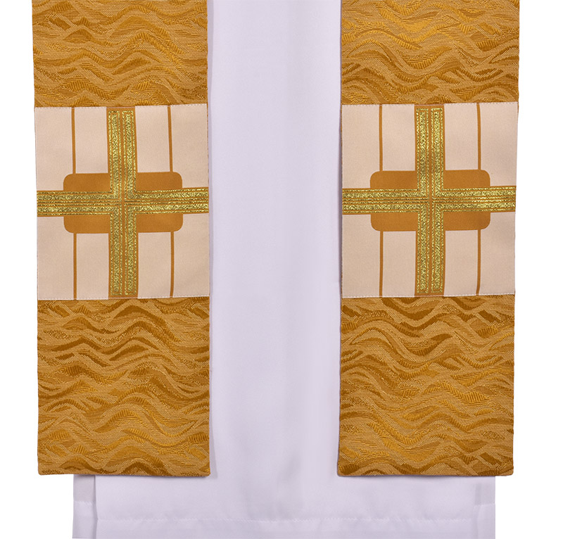 Holy Cross Priestly Stole Asperges Cope ES711