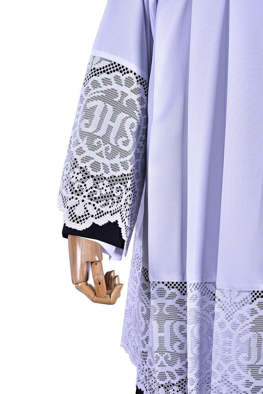 Liturgical Lace JHS Surplice SO043