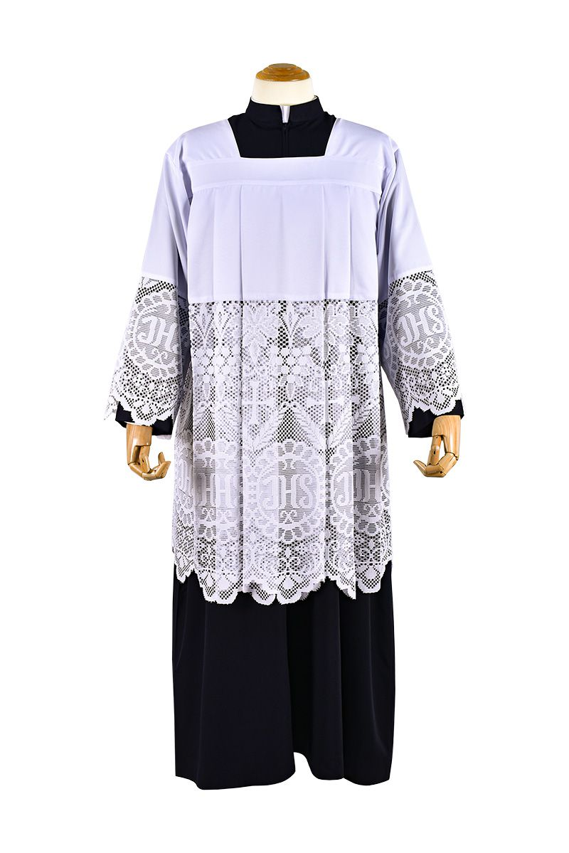 Roquete Liturgical Lace JHS SO044
