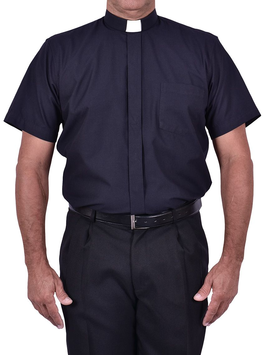 Traditional Clerical Shirt Short Sleeve