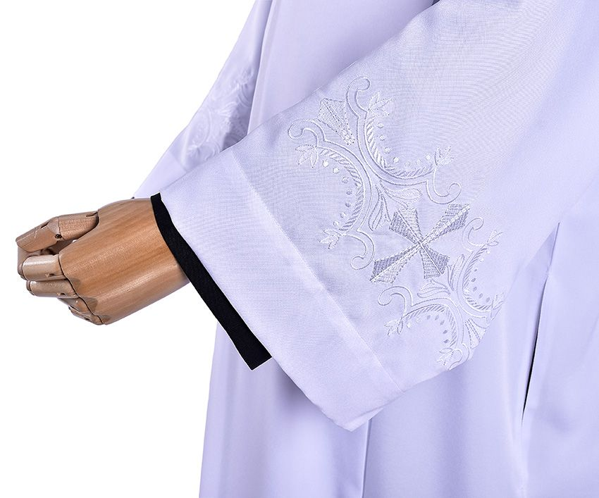 Tunic Pleat Embroidered In Albis TU017