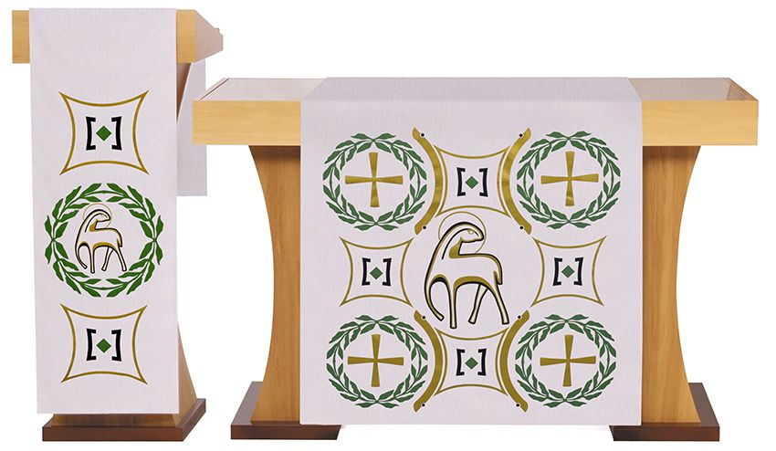 Altar and Pupit Veils Paschal S198 S199