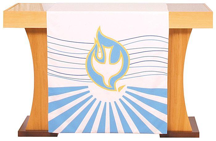 Véu S062 de Altar Batismo
