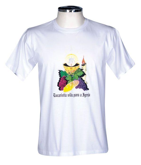 Camisa Eucaristia Adulto S027