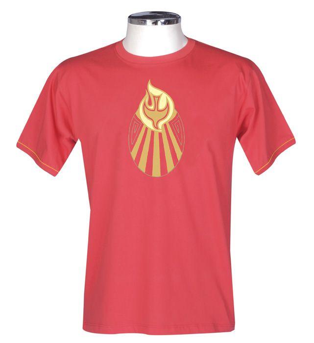 Camisa Crisma Vermelha S055