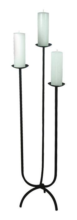 Castiçal de Ferro Trindade 110cm