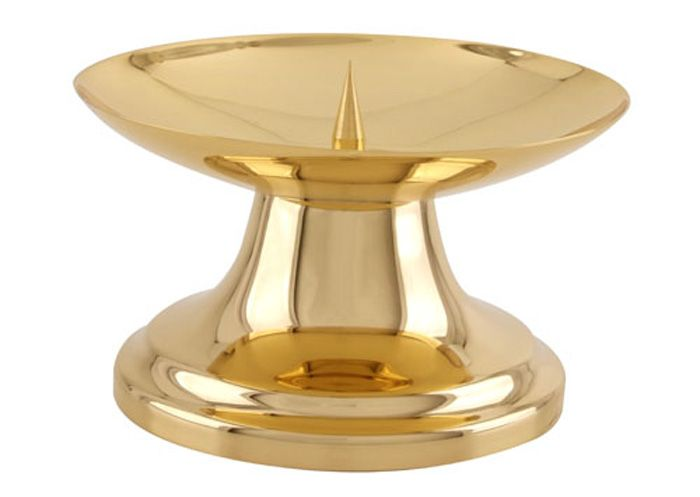 Castiçal Dourado com Pino 17020