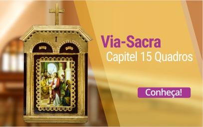 Via Sacra Capitel 15 Quadros