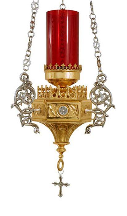 Lâmpada Santíssimo Gótica 640