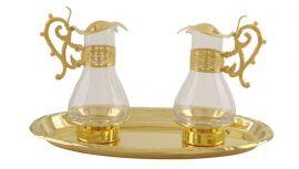 Galheteiro Clássico Dourado 5010