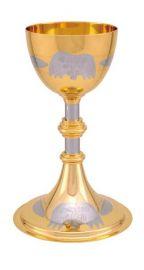 Cálice Dourado Total Gravado 1218