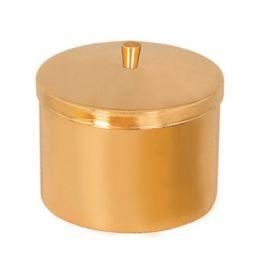 Caixa para Hóstia Dourada 10 cm 7103