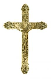 Crucifixo de Parede Bronze 091 37,5cm