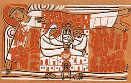 Painel Litúrgico Natal 90 x 140cm
