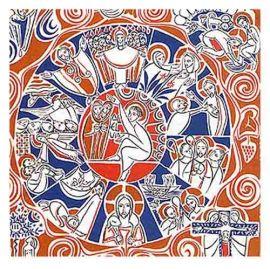 Painel Litúrgico Páscoa 130 x 130cm