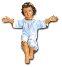 Imagem Menino Jesus Italiano Gesso 60cm