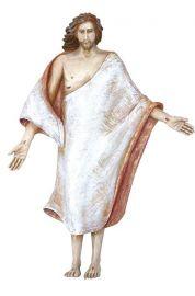 Imagem Cristo Ressuscitado Fibra 4152 70cm