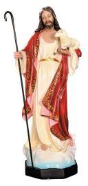 Imagem Bom Pastor Gesso 60cm