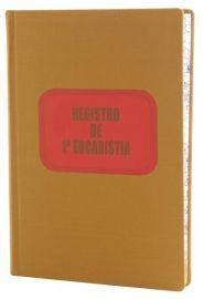 Livro de Registro 1ª Eucaristia
