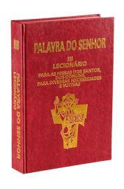 Lecionário Santoral - Vol. III