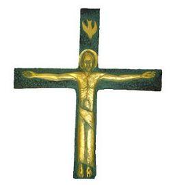 Crucifixo de Parede Resina 4045