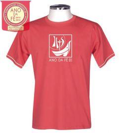 Camisa Ano da Fé S165 Vermelha/Adulto