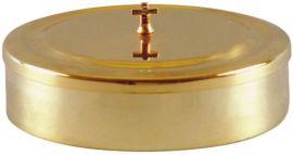 Caixa para Hóstia Dourada 16 cm 7105