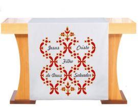 Véu de Altar Natal Jesus Verbo  S189