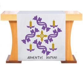 Véu S187 de Altar Advento Velas