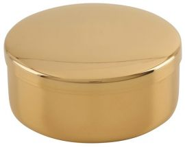 Caixa para Hóstia Dourada 8,5 cm 7101