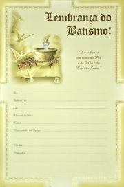 Lembrança do Batismo LB 066 - 10 un