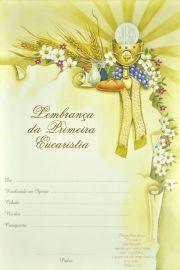 Lembrança da Primeira Eucaristia LB 041 - 10 un