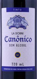 Vinho Canônico La Dorni Tinto sem Álcool 720ml