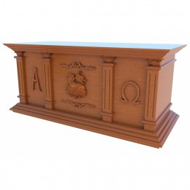 Altar Israel Entalhado 109
