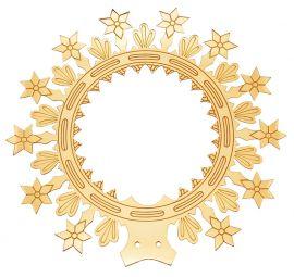 Auréola com Estrelas 11cm 8206