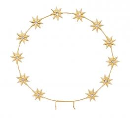 Auréola com Estrelas GRA130 250 mm