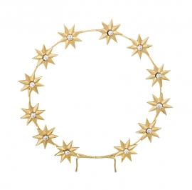 Auréola com Estrelas GRA65 100 mm