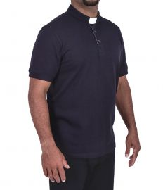 Camisa Clerical Estilo Polo PL001